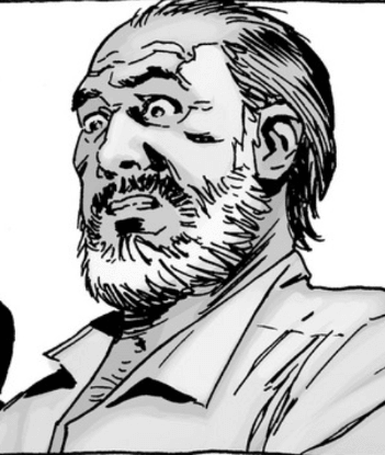 Gregory in the comics, by Charlie Adlard.