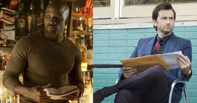 Luke Cage Mike Colter Davd Tennant Kilgrave