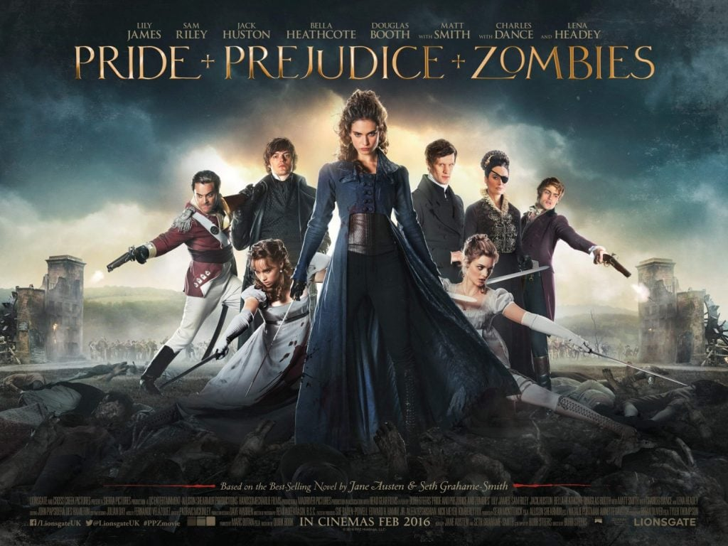 Pride and Prejudice and Zombies banner poster