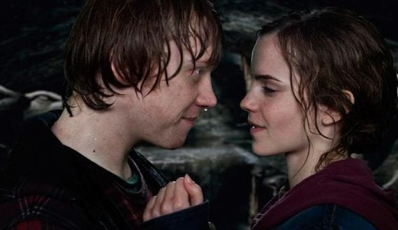 Ron and Hermoine