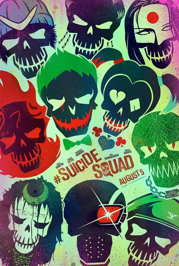 Suicide Squad character poster 11