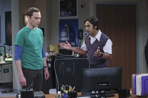 bbt raj and sheldon talk asteroid
