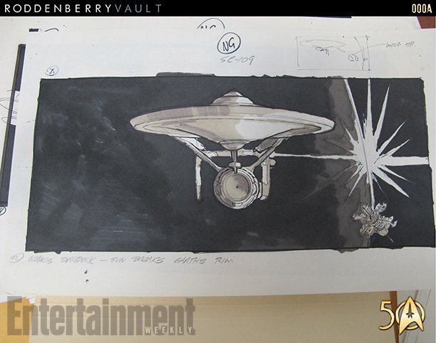 star trek the motion picture storyboard opening