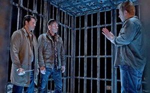 Dean and Castiel find themselves face-to-face with Lucifer
