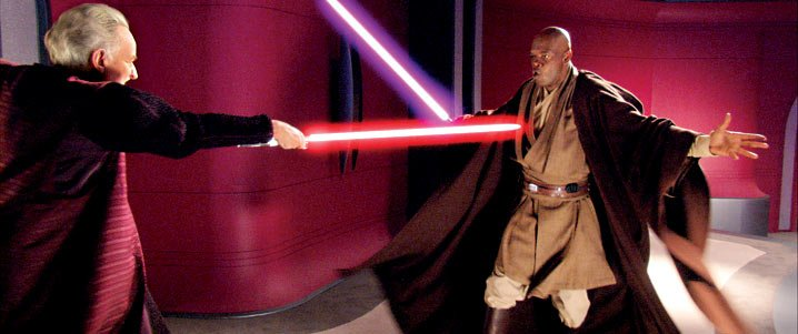 windu and sidious duel