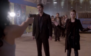 Lucifer finally gets the danger he's been craving.