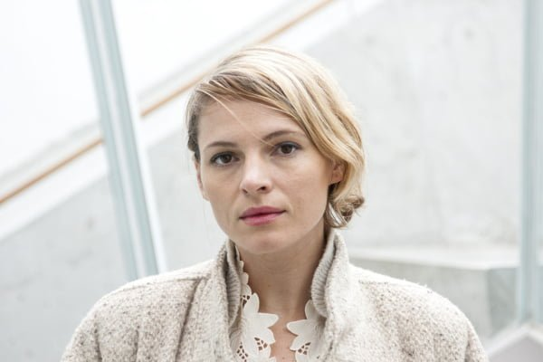 Amy Seimetz, an actress, in Vancouver, Canada.
