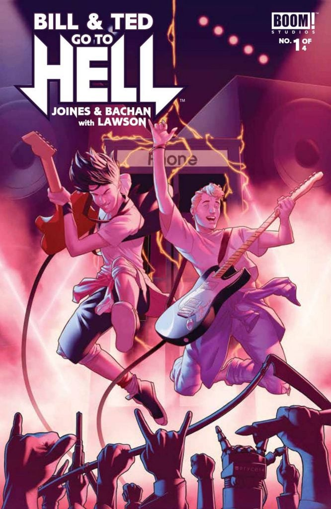 Bill and Ted Go To Hell 1 Cover