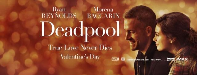 Deadpool Valentines Day banner