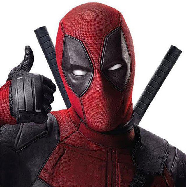 Deadpool thumbs up thumb