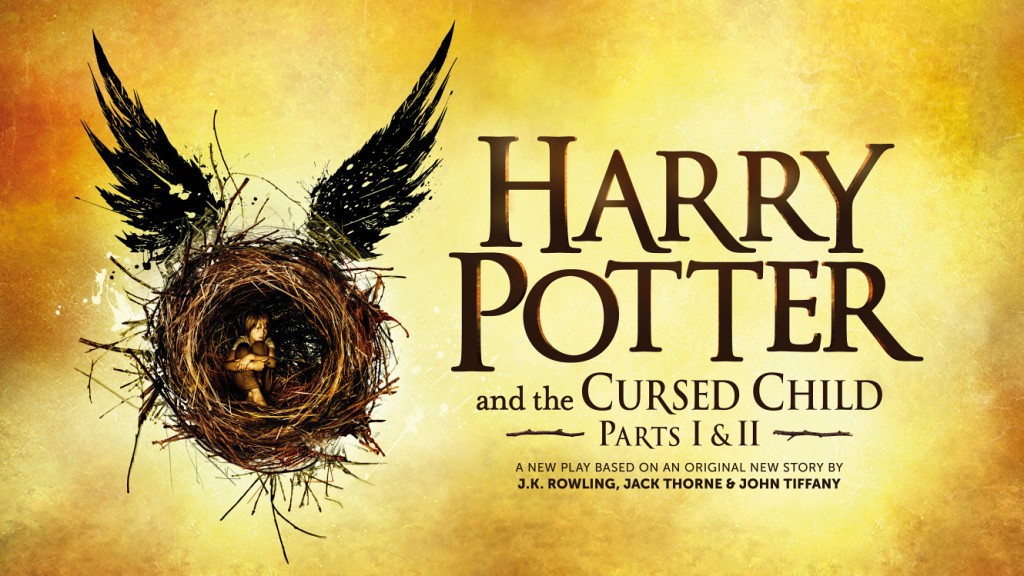 Harry Potter and the cursed child banner