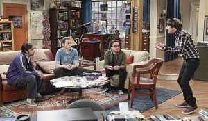 bbt howard tells the guys about baby