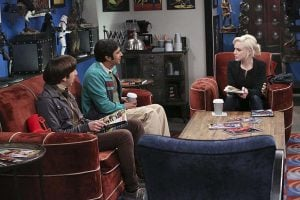 bbt raj and howard with claire
