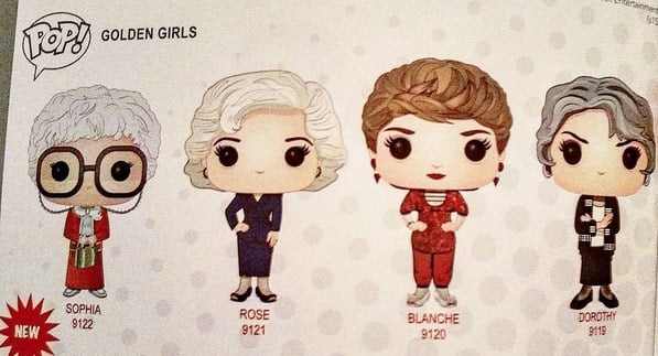 funko golden girls