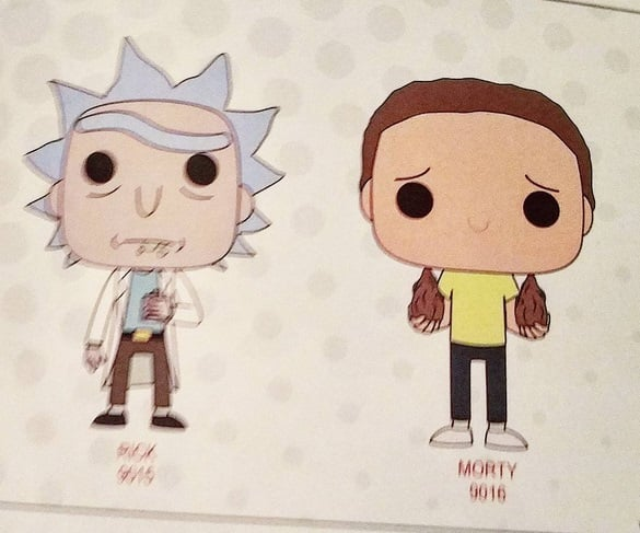 funko rick morty