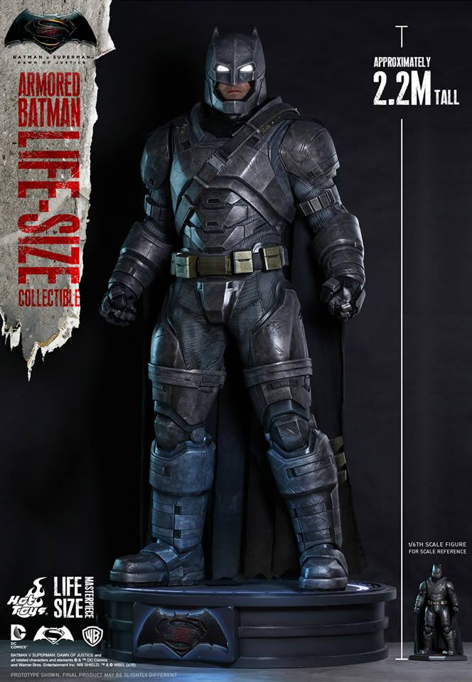 ht life size armored batman