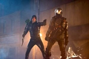 lot old green arrow v new deathstroke