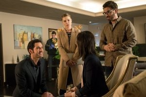 Lucifer and Chloe investigate the murder of cheater therapist, Bernie Shaw