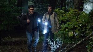 Nick and Monroe reach the possible location of the Knights treasure