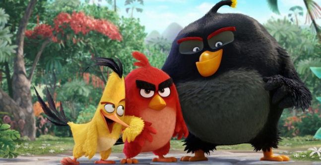 Ruvio 's Angry Birds movie screenshot