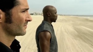 Lucifer taps his brother Amenadiel to help with his search for the wings