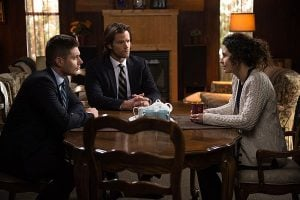 Sam and Dean pay a visit to Mary Henderson, the woman saved by Rufus and Bobby.