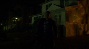 DDV punisher blows up old house