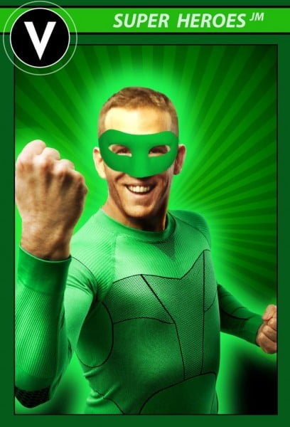 Deadpool Ryan Reynolds Green Lantern