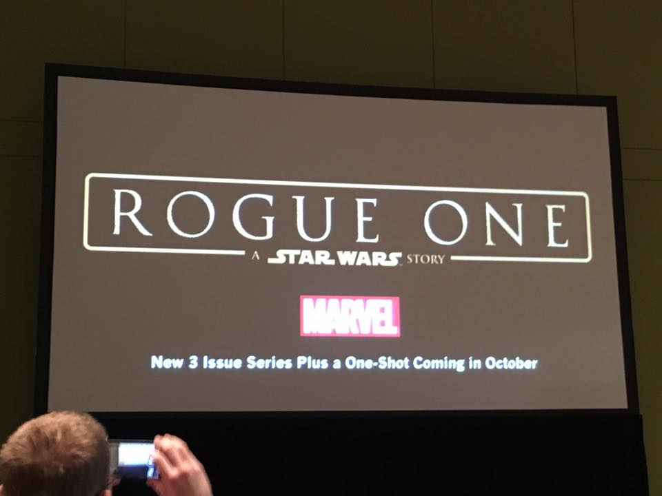 Marvel Comics Star Wars Rogue One