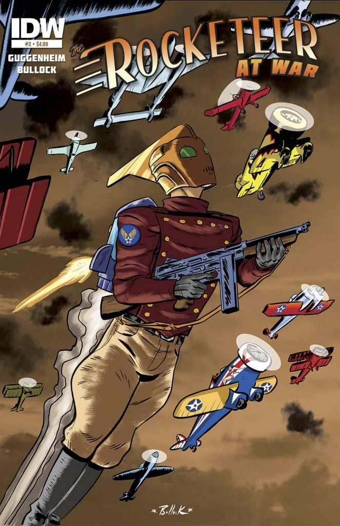 Rocketeer at war 1 Cover