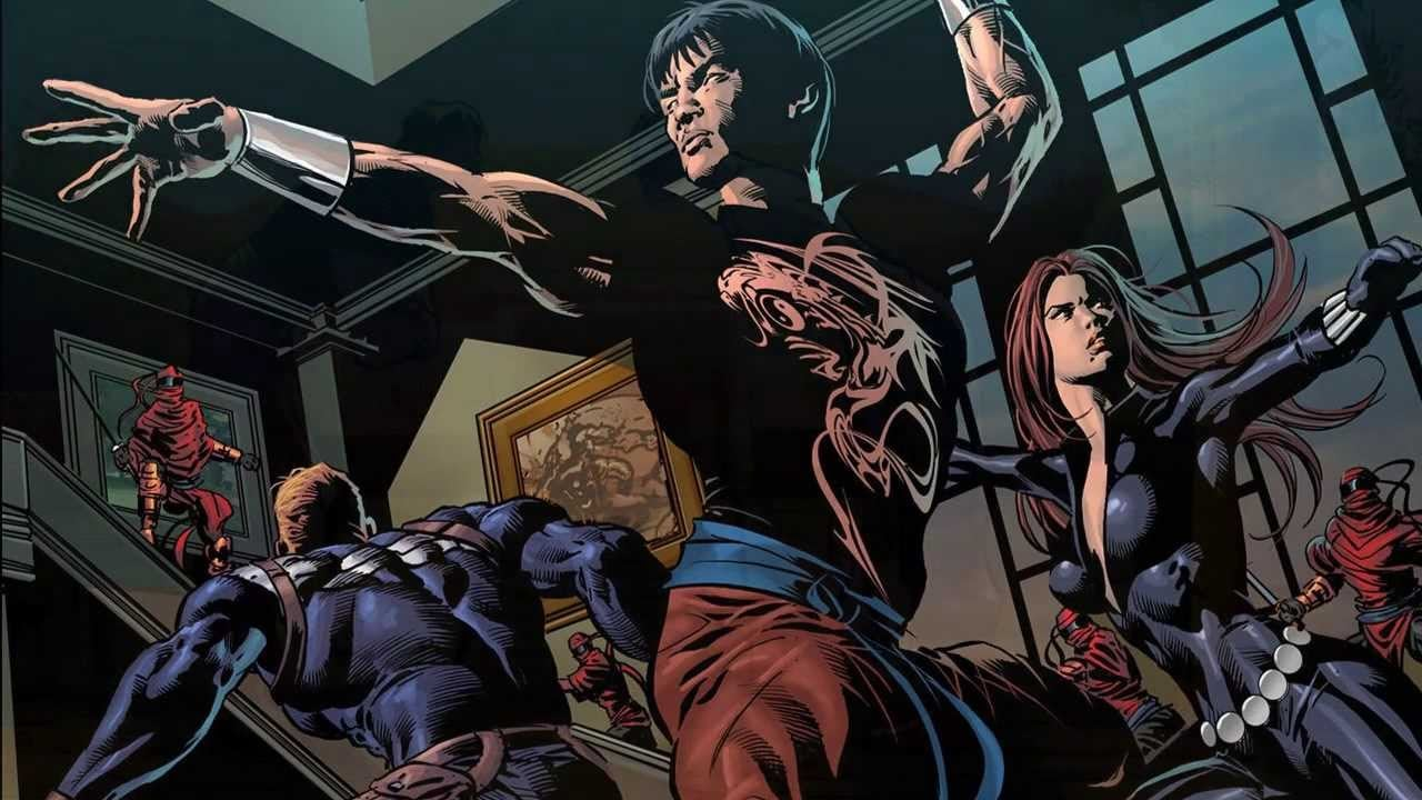 Shang-Chi And The Legend Of The Ten Rings comic panel