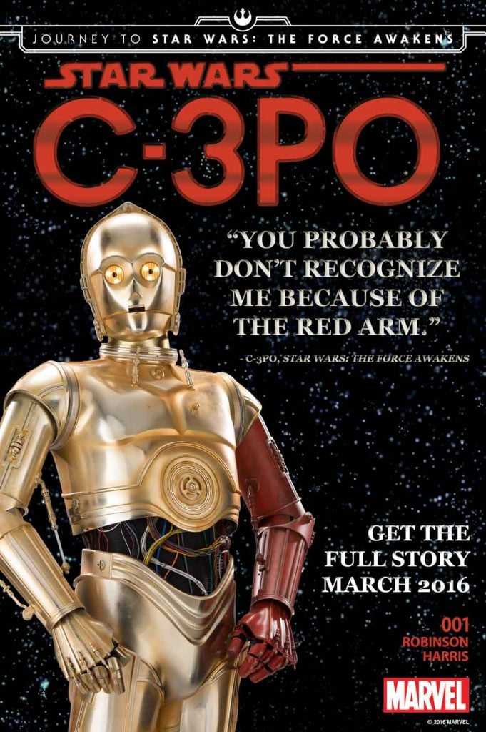 Star Wars C3PO Marvel