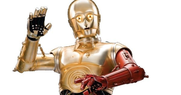 Star Wars The Force Awakens C3PO red arm Anthony Daniels