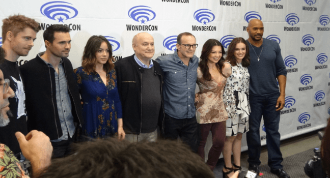 Wondercon 2016 Agents of SHIELD