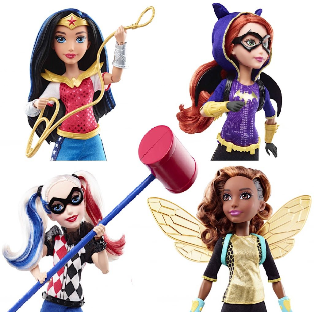 dc hero girls