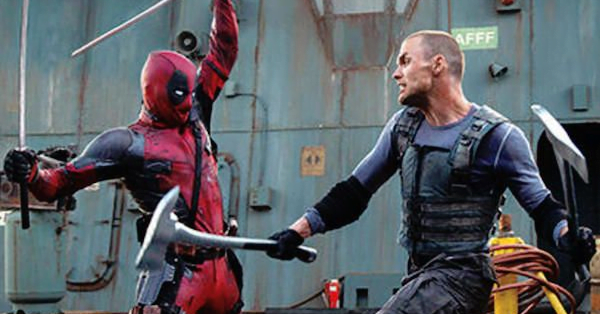 deadpool battling ajax