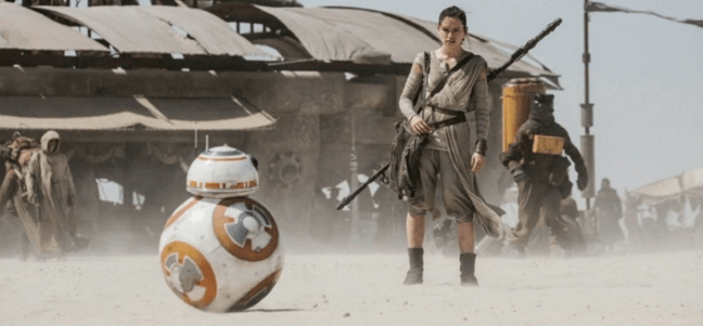 star wars the force awakens rey bb8
