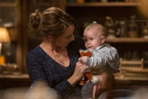 Rosalee watches over Kelly while telling Adalind to tell Nick the truth.