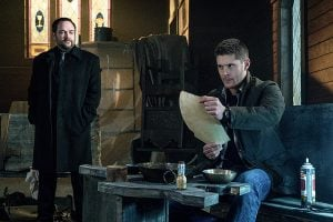 The Winchesters and Crowley summon Lucifer...obviously it doesn't go as planned.
