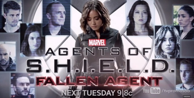 Agents of SHIELD Fallen Agent banner
