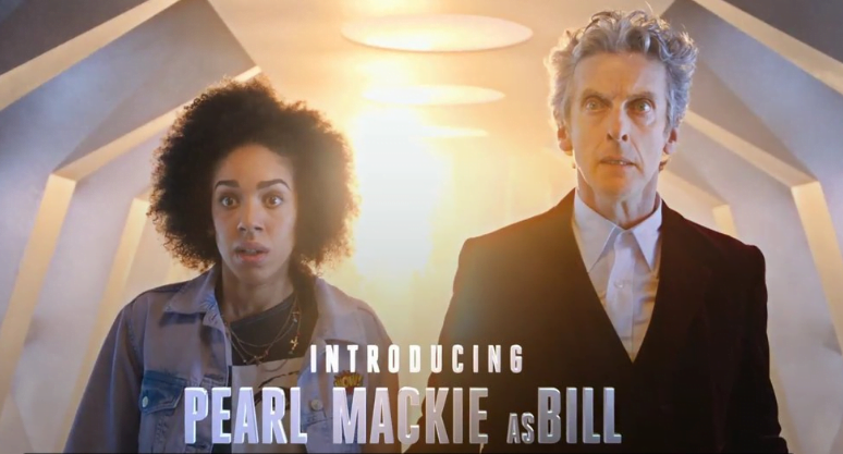 Pearl Mackie as Bill  Doctor Who