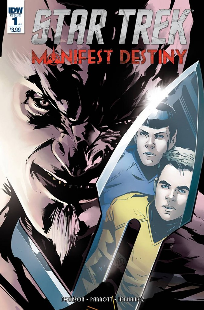 Star Trek Manifest Destiny 1 Cover