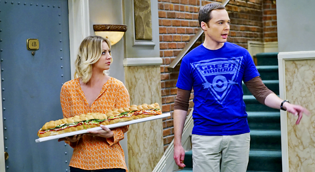 The Big Bang Theory The Viewing Party Combustion