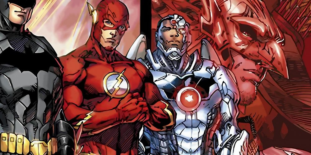 The-Flash-and-Cyborg