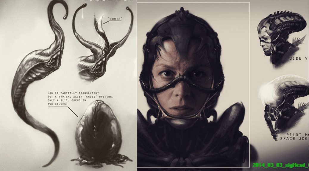 alien-new-concept-art Sigourney Weaver