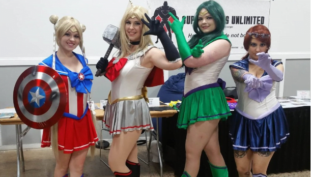 cosplay great philadelphia comic con avengers scouts