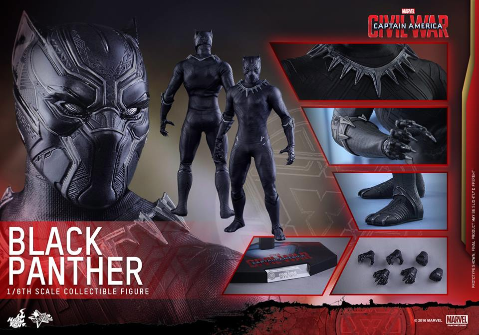 hot toys black panther