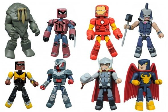 marvel animated minimates 2.5