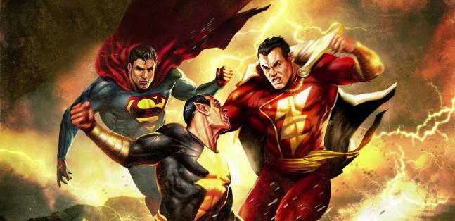 shazam superman black adam