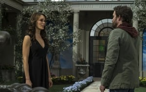 Reunited, and it feels so good. Chuck and Amara mend their broken fences.